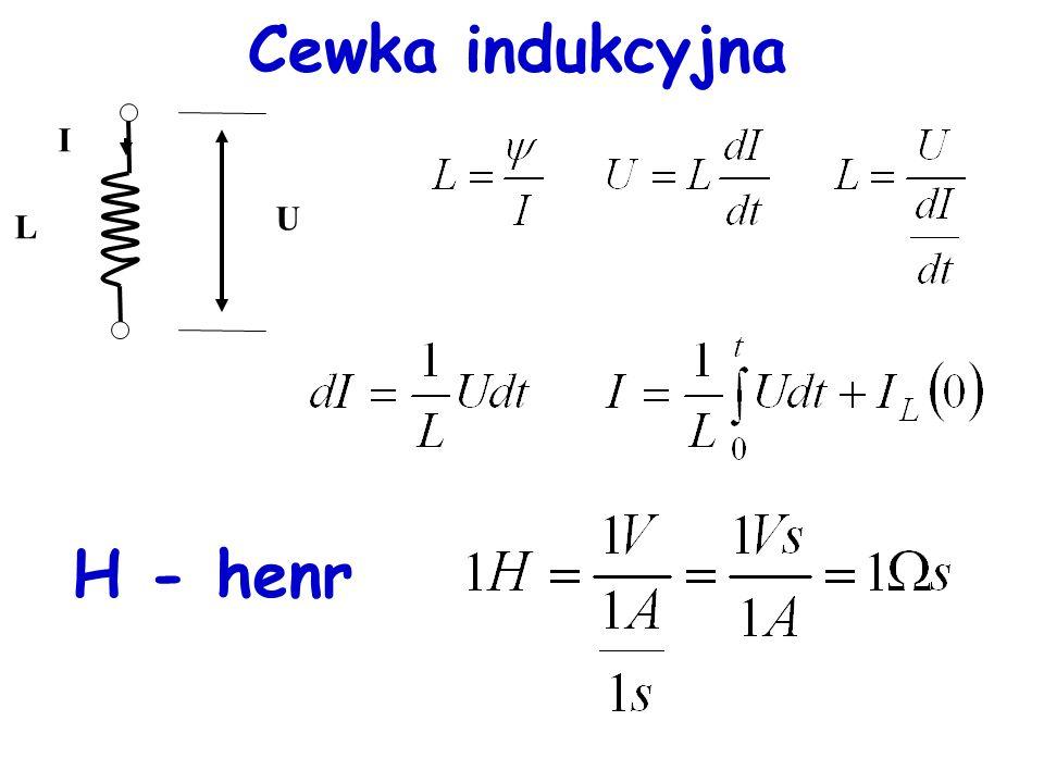 Energia kondensatora Energia zmagazynowana w kondensatorze: Oznaczenia C - pojemność kondensatora; U - różnica potencjałów (napięcie); Q - ładunek zgromadzony na okładkach kondensatora; E - energia;