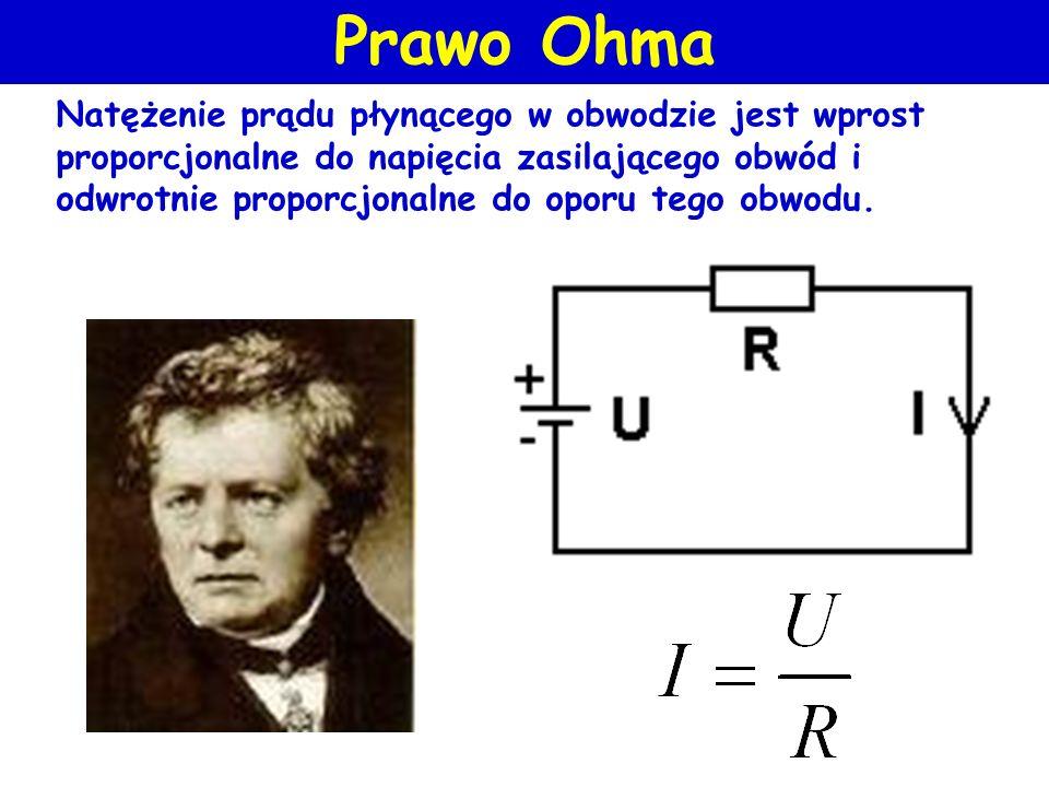 Napięcie (symbol U lub E) jest różnicą potencjałów elektrycznych między dwoma wybranymi punktami i jest wyrażane w woltach (V). 1V jest to różnica pot