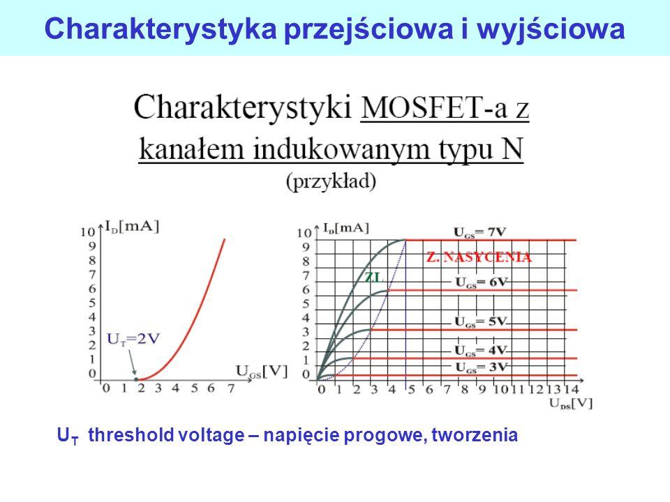 Tranzystory polowe - unipolarne