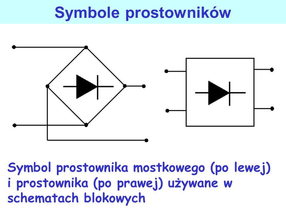 Prostowniki jednofazowe i trójfazowe prostowniki przekształcają napięcie przemienne na napięcie stałe, wartość stałego napięcia wyjściowego jest regul