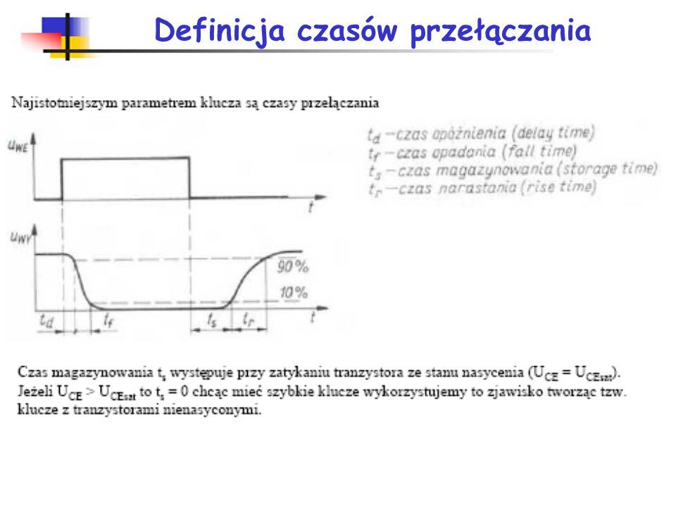 Parametry serii w rodzinie układów TTL