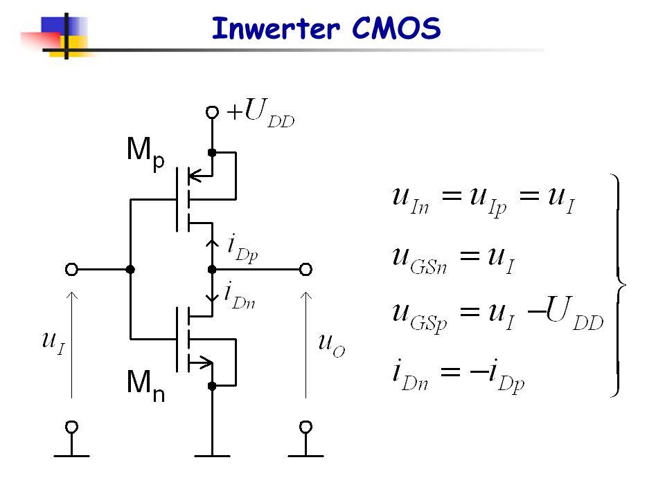 Budowa bramek scalonych Chociaż bramki w wersjach TTL i CMOS spełniają tę samą funkcję logiczną to wartości poziomów logicznych, szybkość, moc zasilan