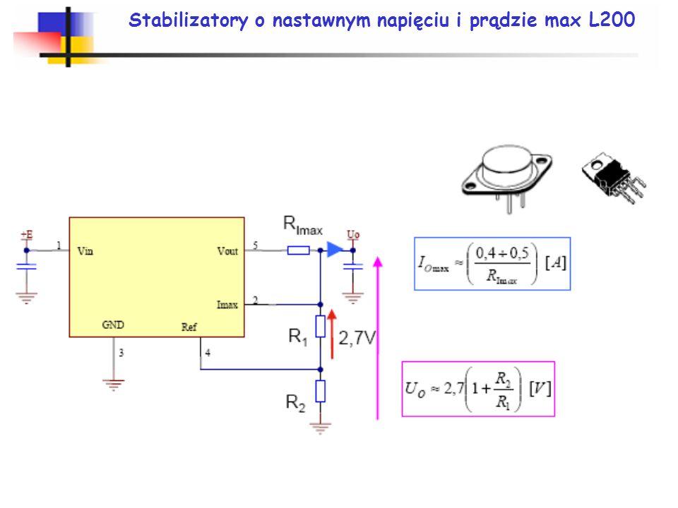 Stabilizatory o nastawnym napięciu i prądzie max L200