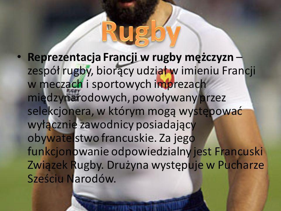 Reprezentacja Francji w rugby mężczyzn – zespół rugby, biorący udział w imieniu Francji w meczach i sportowych imprezach międzynarodowych, powoływany przez selekcjonera, w którym mogą występować wyłącznie zawodnicy posiadający obywatelstwo francuskie.