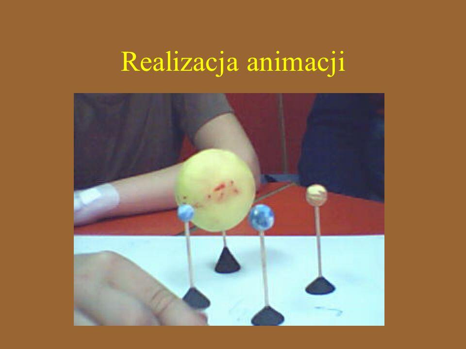 Realizacja animacji