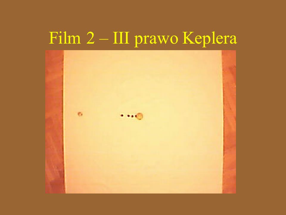 Film 2 – III prawo Keplera