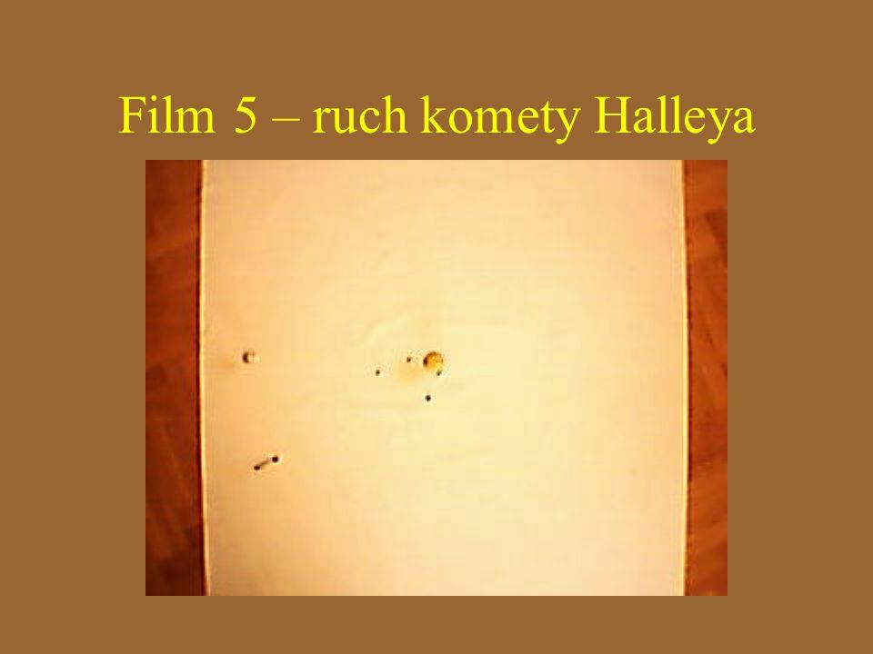 Film 5 – ruch komety Halleya