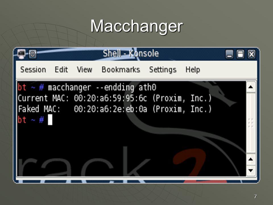 7 Macchanger