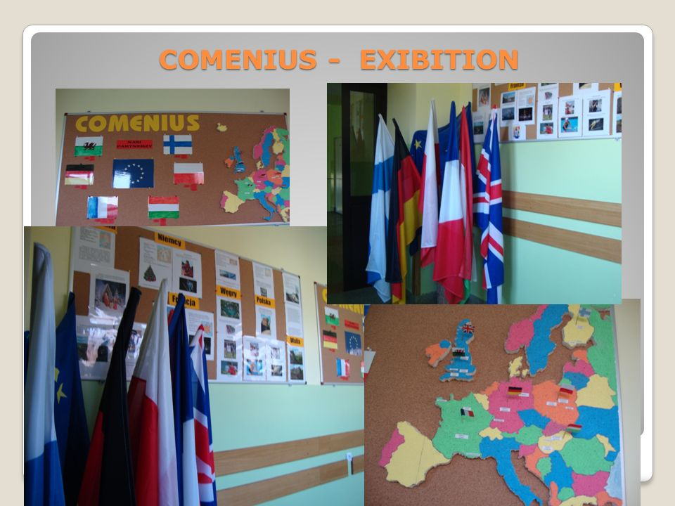 COMENIUS - EXIBITION