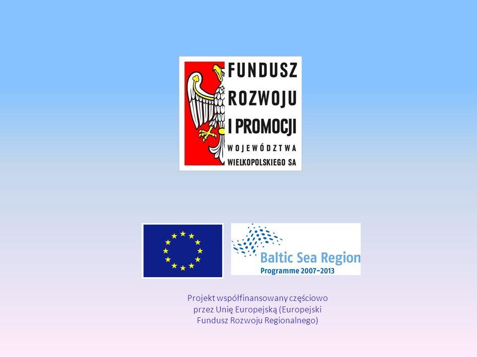 Projekt współfinansowany częściowo przez Unię Europejską (Europejski Fundusz Rozwoju Regionalnego)