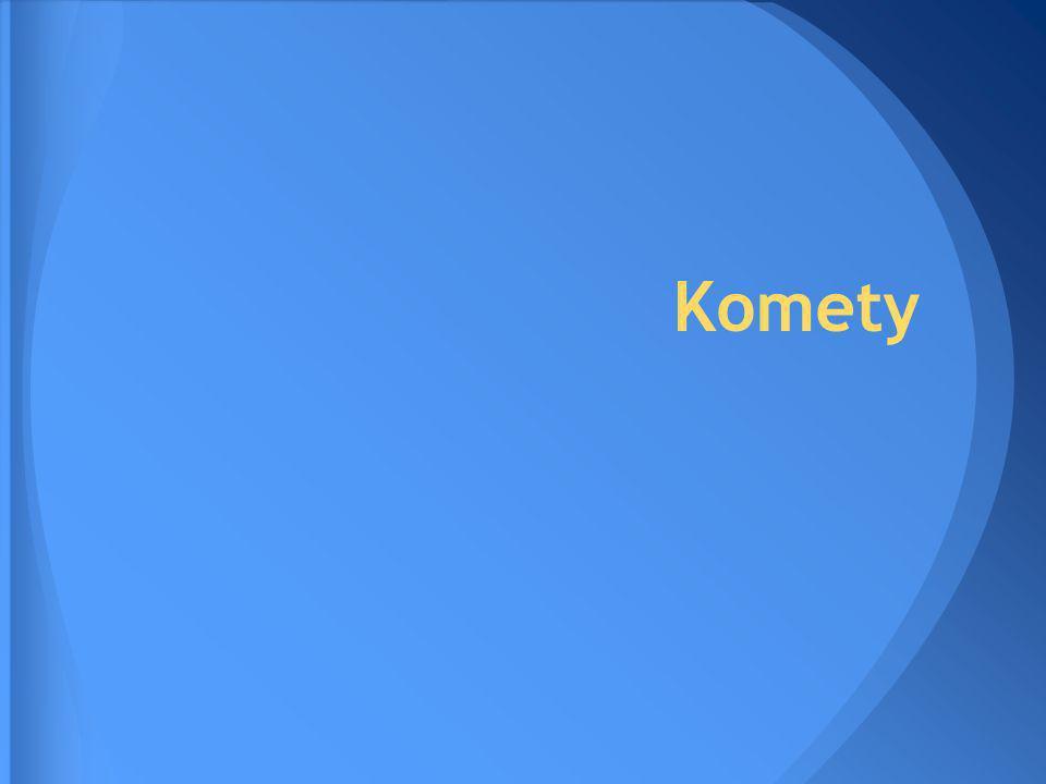 Słowo kometa pochodzi od łacińskiego cometes.