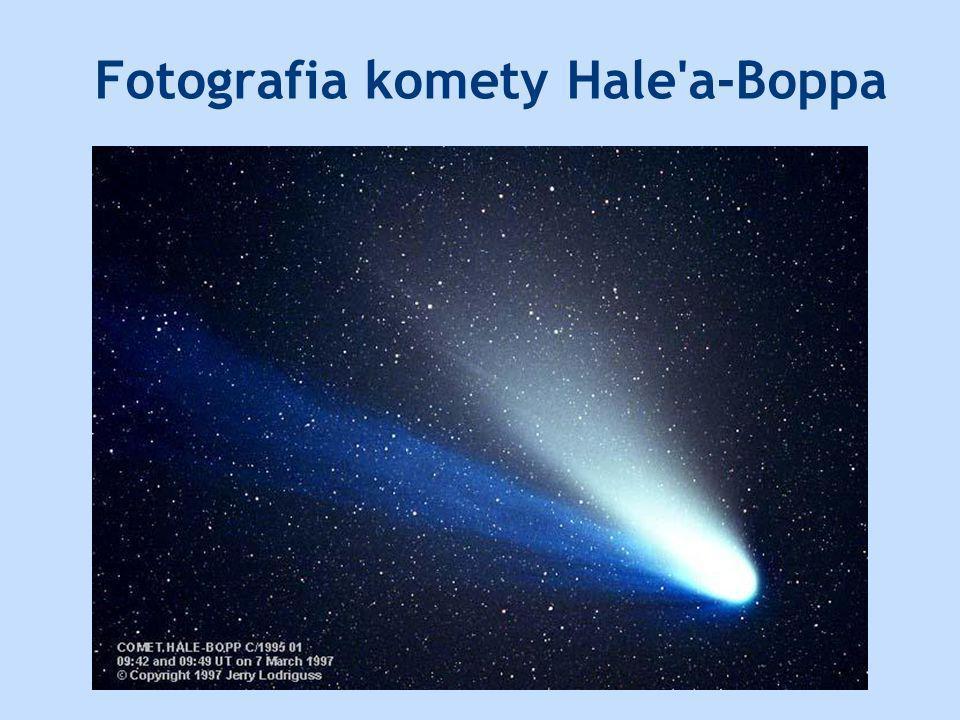 Fotografia komety Hale'a-Boppa