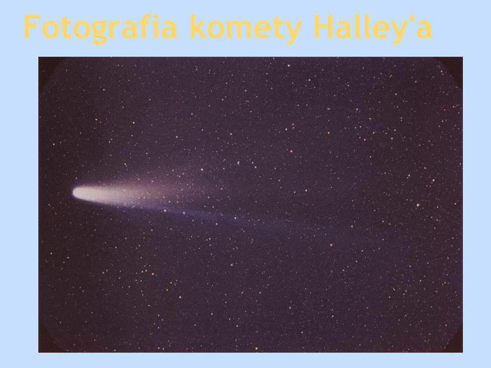 Fotografia komety Halley'a