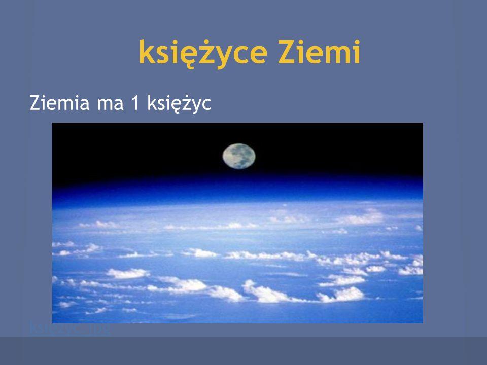 księżyce Ziemi Ziemia ma 1 księżyc księżyc.jpg
