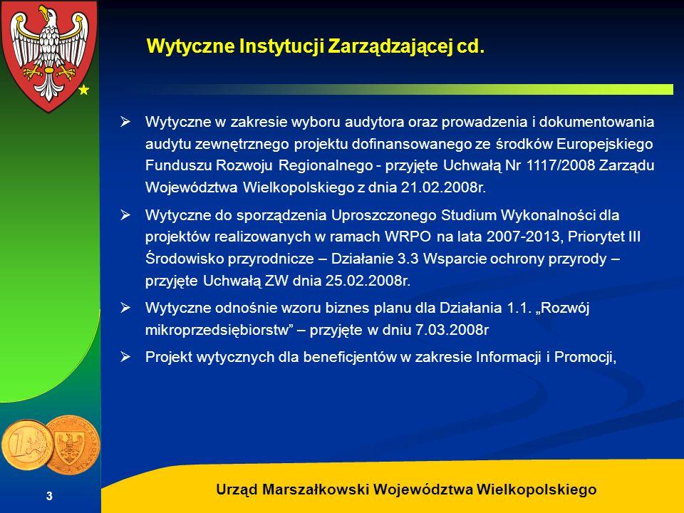 Autor: G.Potrzebowski Urząd Marszałkowski Województwa Wielkopolskiego 3 Wytyczne w zakresie wyboru audytora oraz prowadzenia i dokumentowania audytu z