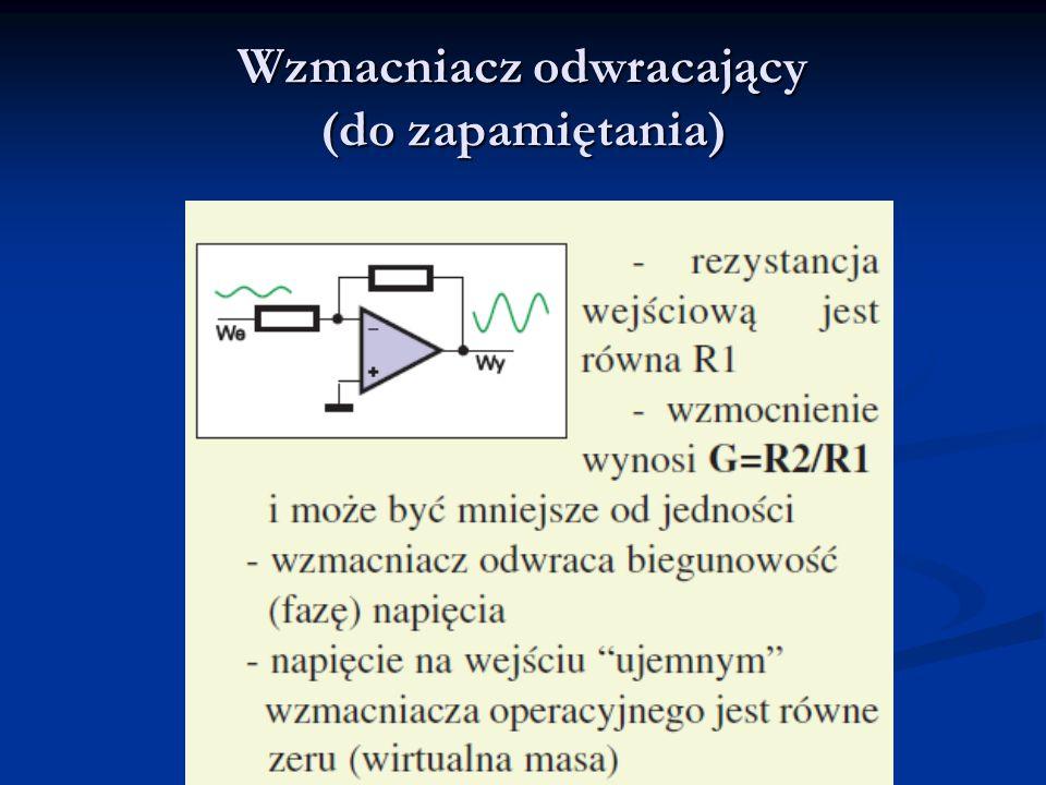 Wzmocnienie I1I1 I2I2 0V