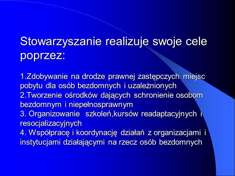 Stowarzyszenie AGAPE prowadzi obecnie CZTERY placówki na terenie województwa pomorskiego, w których przebywa ok.