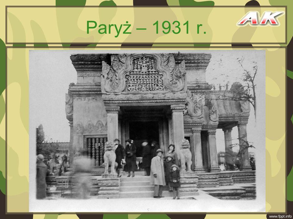 Paryż – 1931 r.