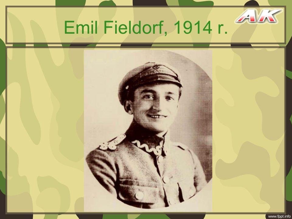 Emil Fieldorf, 1914 r.
