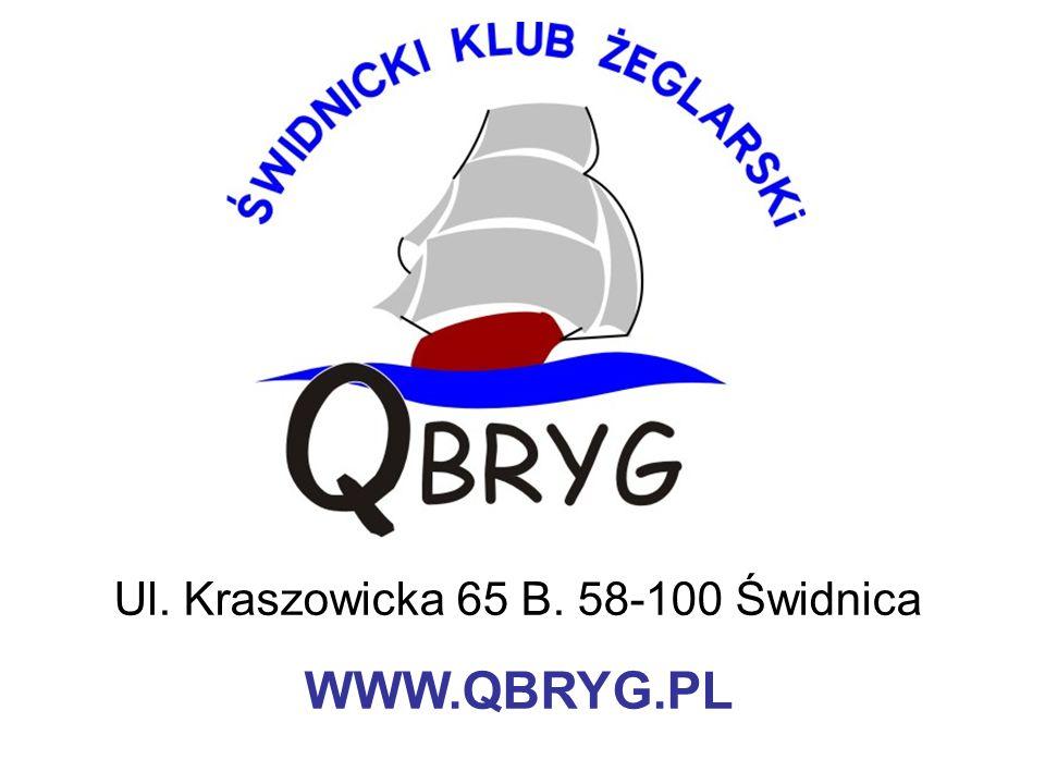 Ul. Kraszowicka 65 B. 58-100 Świdnica WWW.QBRYG.PL