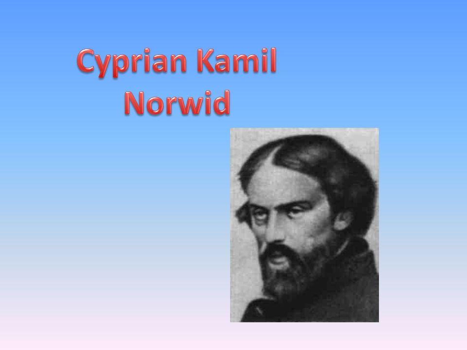 Cyprian Kamil Norwid, właśc.Cyprian Ksawery Gerard Walenty Norwid herbu Topór.