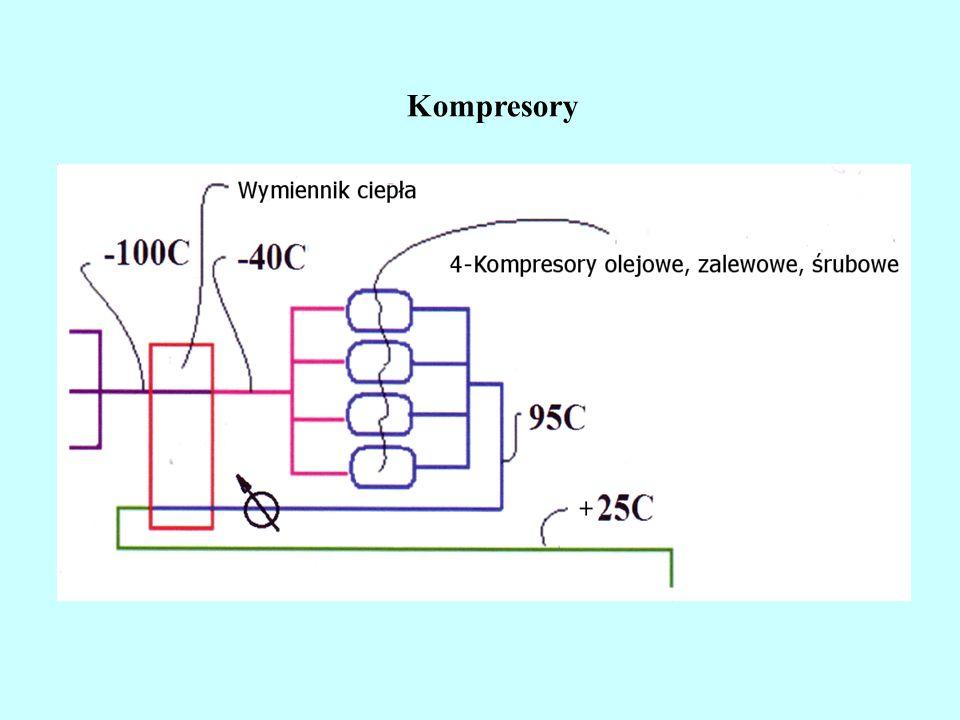Regazyfikacja LNG z zastosowaniem wody morskiej Pompy wodne Pompy LNG