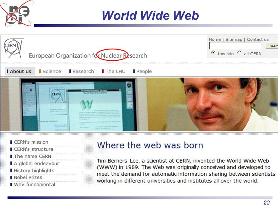 22 World Wide Web