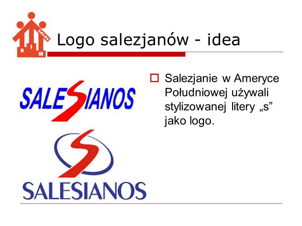 Salezjanie w Ameryce Południowej używali stylizowanej litery s jako logo. Logo salezjanów - idea