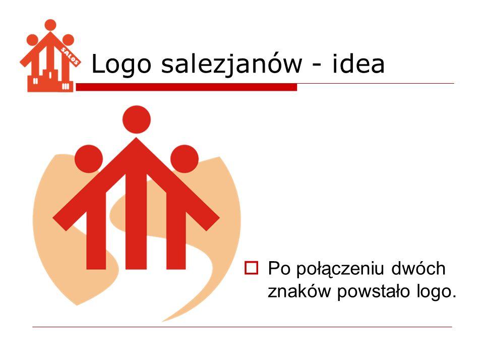 Po połączeniu dwóch znaków powstało logo. Logo salezjanów - idea