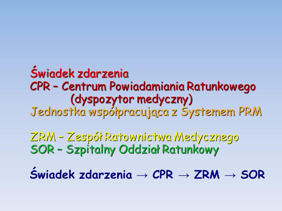 USTAWA z dnia 8 września 2006 r.o Państwowym Ratownictwie Medycznym Art.