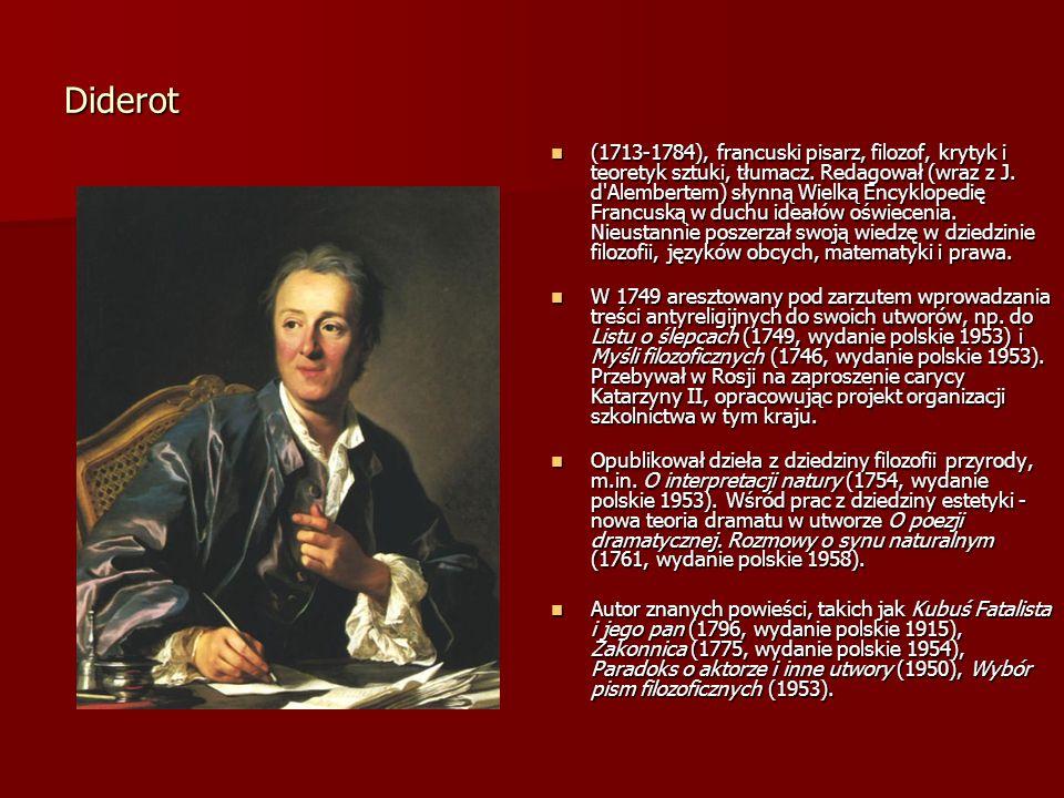 Jean dAlambert (17171783), francuski filozof, fizyk i matematyk.