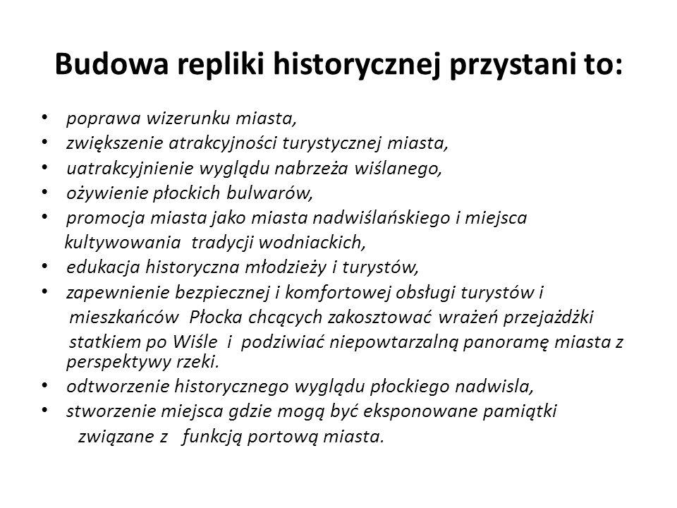 Przystań wrosła w płocki krajobraz Cytuję: Przystań eksploatowana w Płocku przez okres prawie 90 lat stała się naturalnym elementem krajobrazu wiślanego brzegu tego miasta.
