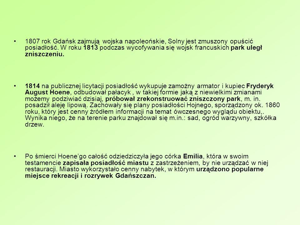 Zródło: J. Samp; Gdańskie dzielnice, Orunia, Stare Szkoty i Lipce, Wydawnictwo Oskar, Gdańsk 2005