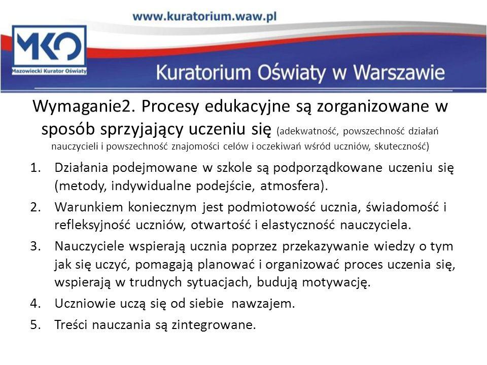 Zalecany przebieg ewaluacji PRZYGOTOWANIE 1.Ustalenie harmonogramu badania w porozumieniem z dyrektorem.