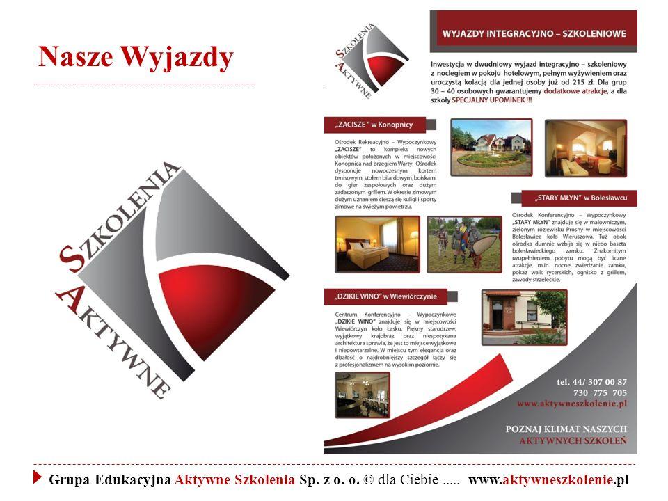 Nasze Wyjazdy Grupa Edukacyjna Aktywne Szkolenia Sp.