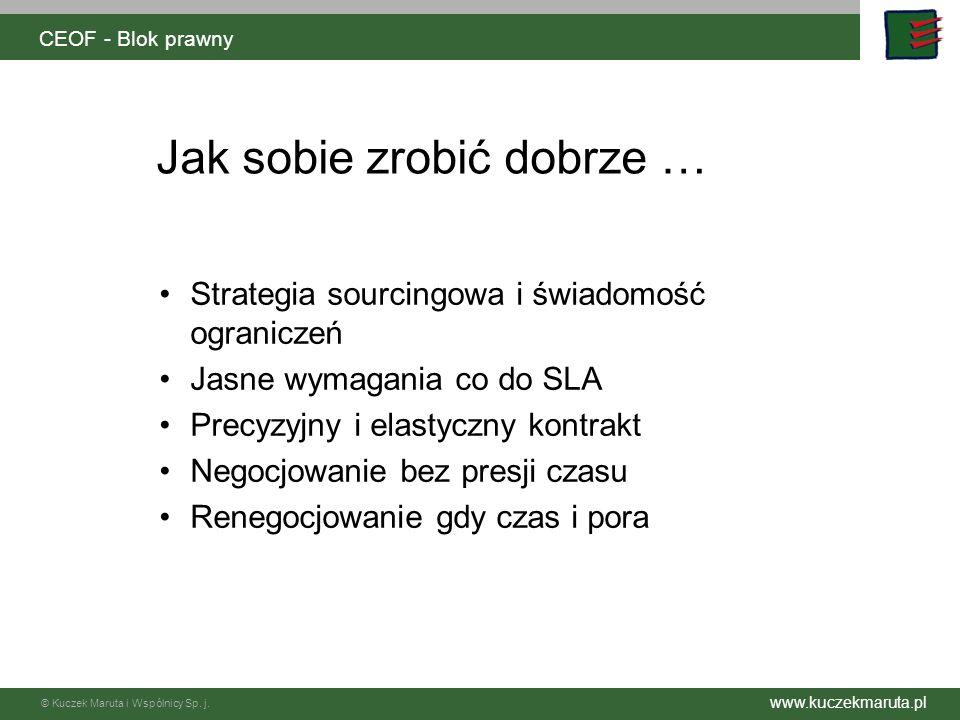 Kuczek Maruta i Wspólnicy s.j.Kancelaria Radców Prawnych 30-004 Kraków, Al.