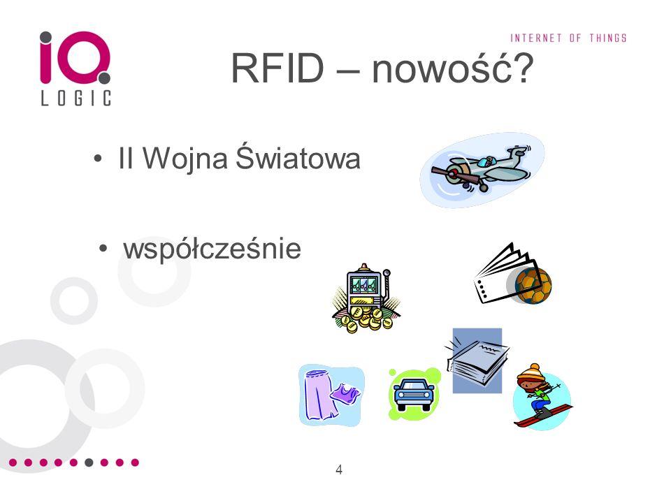 5 Elementy składowe RFID tag (metka radiowa) czytnik (stacjonarny, przenośny) zapytanie informacja (np.