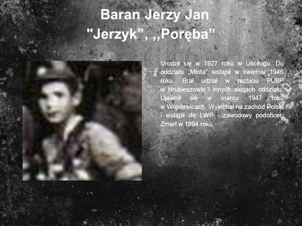 Baran Jerzy Jan
