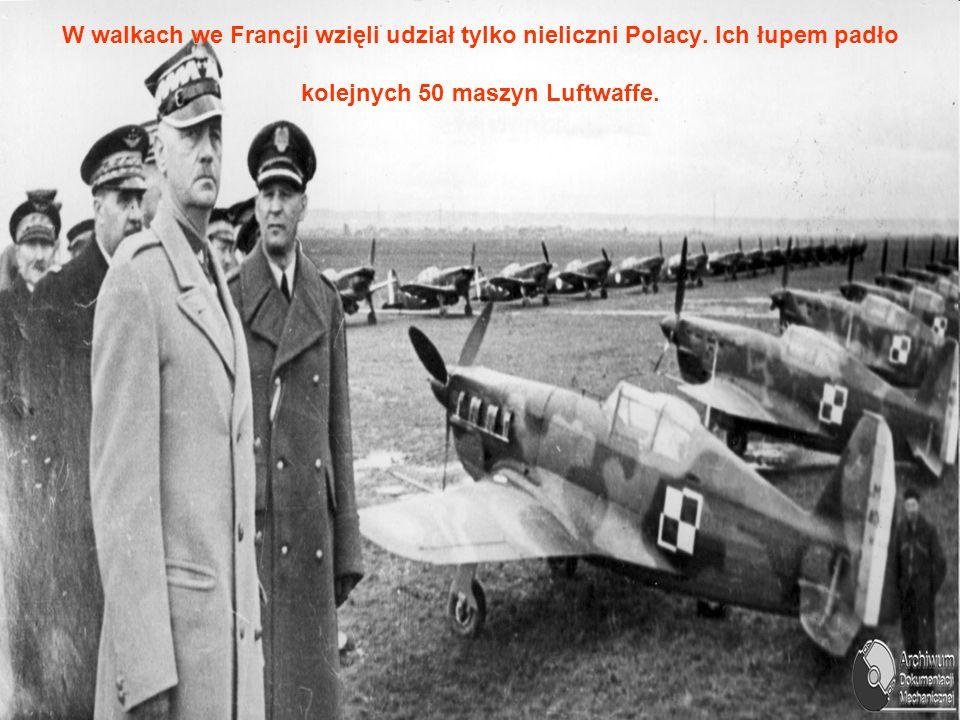 W walkach we Francji wzięli udział tylko nieliczni Polacy.