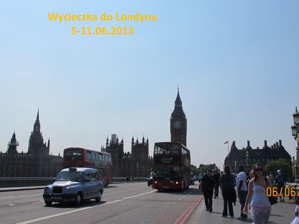 Wycieczka do Londynu 5-11.06.2013