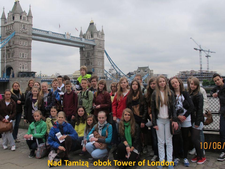 Nad Tamizą obok Tower of London