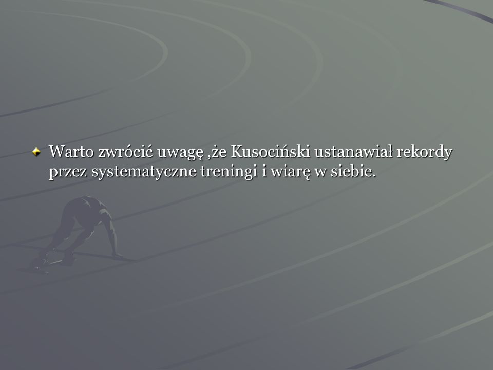 Janusz Kusociński startuje w między miastowym meczu lekkoatletycznym Warszawa - Wilno. Osiągnął w biegu na 1500m czas 4:06,0 min (0,1 sek. gorszy od r