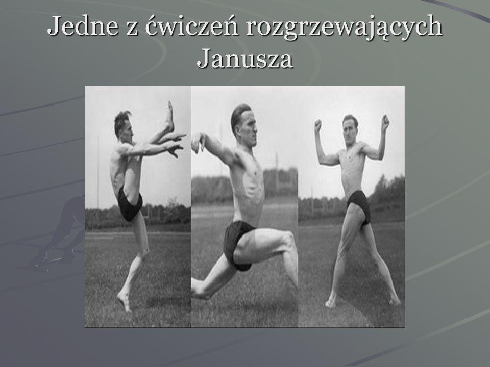 Warto zwrócić uwagę,że Kusociński ustanawiał rekordy przez systematyczne treningi i wiarę w siebie.