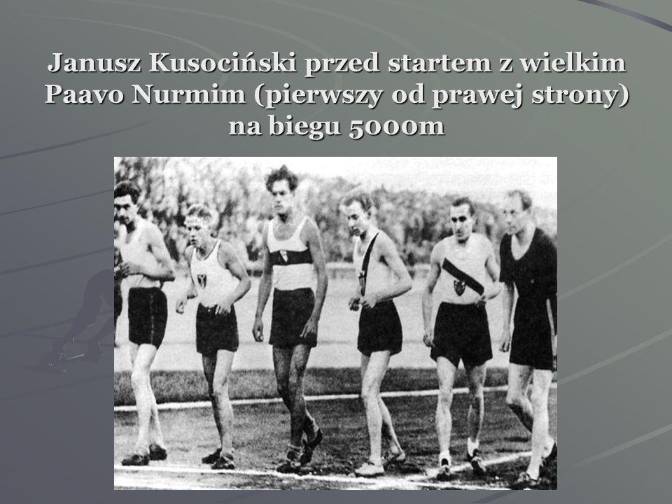 Kilka dni później obaj rywale zmierzyli się z finem Paavo Nurmim w biegu na 5000m. Bieg wygrał Nurmi (14:54,0), drugi był Kusociński (14:55,6), a trze