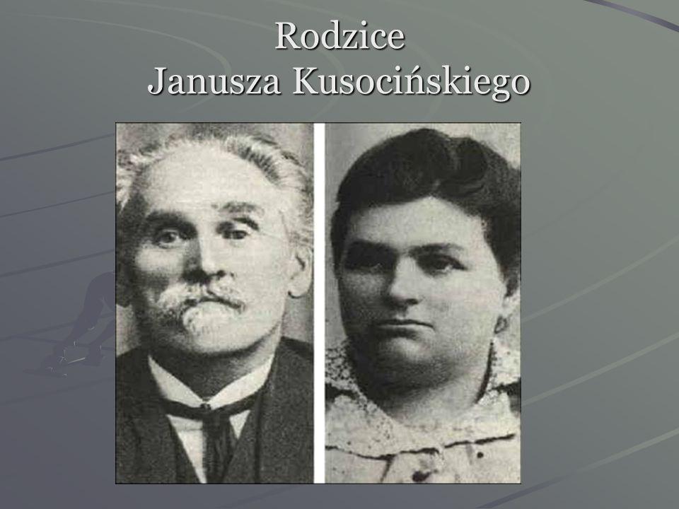 Janusz Kusociński urodził się 15 stycznia 1907 roku w Warszawie. Pochodził z wielodzietnej rodziny kolejarskiej. Ojciec jego-Klemens był urzędnikiem k