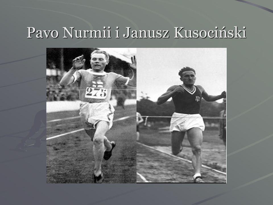 Wrzesień 1931 rok- Janusz kilkakrotnie próbuje pokonać wielkiego Fina Nurmiego,lecz w ostatnim biegu na 5000m ich czasy są równe 15:00,0- zwyciężyła r