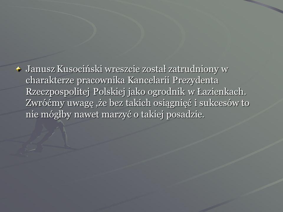 Janusz uczestniczył w międzynarodowych mistrzostwach lekkoatletycznych w Wiedniu. W biegu tym brał udział ośmioletni rekordzista świata Argentyńczyk Z