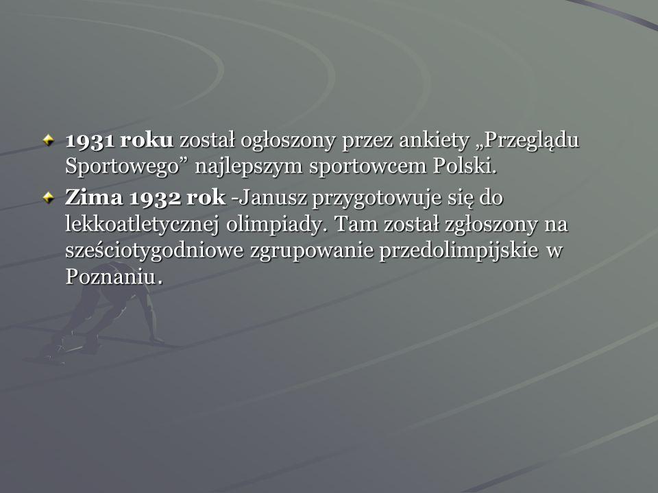 Janusz Kusociński wreszcie został zatrudniony w charakterze pracownika Kancelarii Prezydenta Rzeczpospolitej Polskiej jako ogrodnik w Łazienkach. Zwró