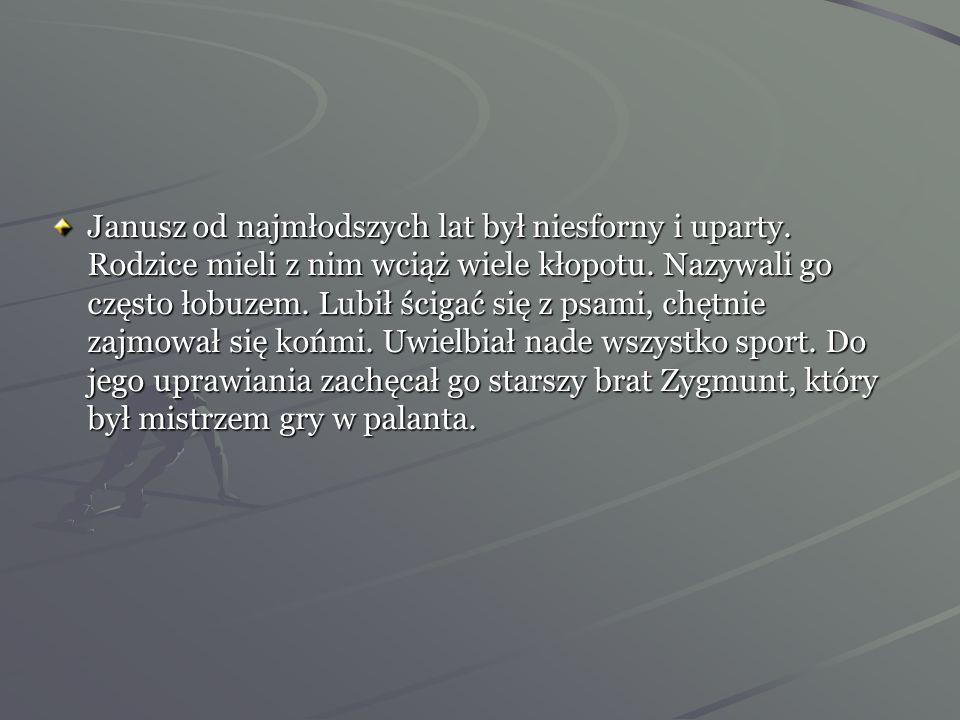 Rodzice Janusza Kusocińskiego