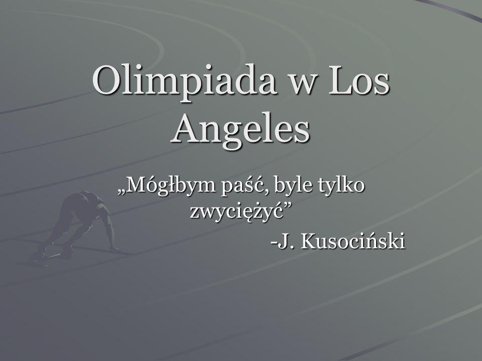 Tak więc na olimpiadzie polska drużyna liczyła 19 zawodników (lekkoatleci, szermierze i wioślarze). W Nowym Jorku do ekipy miała dołączyć młodziutka P